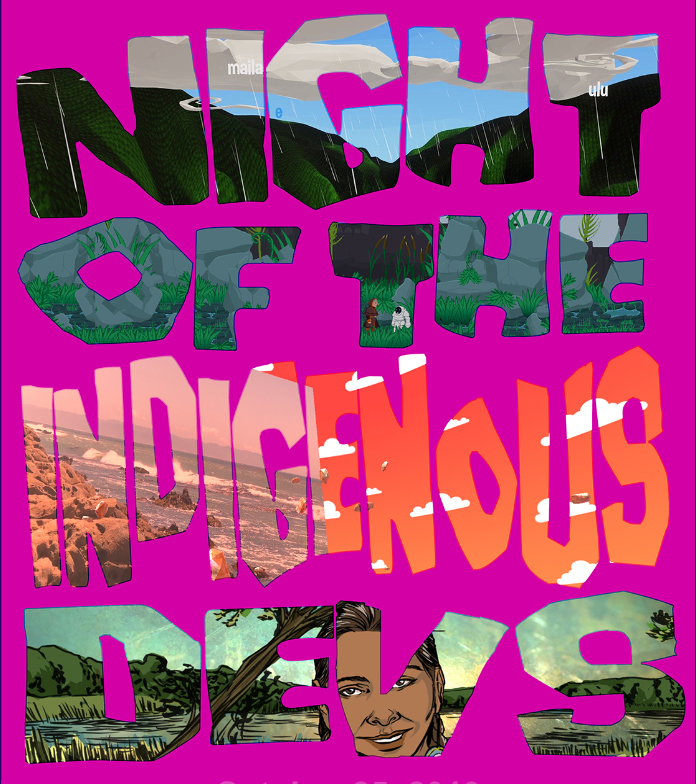 Night of the Indigenous Devs Poster